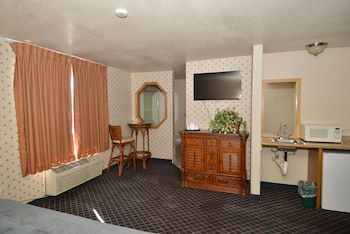 Guestroom at Sunrise Inn Hotel in North Las Vegas