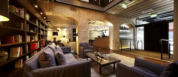 Lobby at Harbour Rocks Hotel Sydney MGallery in The Rocks