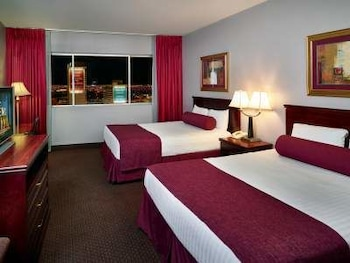 Guestroom at Four Queens Hotel and Casino (No Resort Fee) in Las Vegas