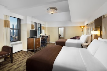 Metro Room, 2 Double Beds