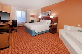 Guestroom at Fairfield Inn & Suites Fort Worth/Fossil Creek in Fort Worth