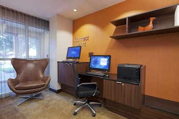 Business Center at Fairfield Inn & Suites Fort Worth/Fossil Creek in Fort Worth