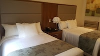 Standard Room, 2 Double Beds, Private Bathroom