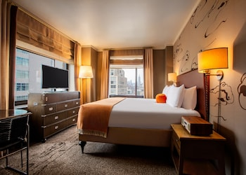 Guestroom at Soho Grand Hotel in New York