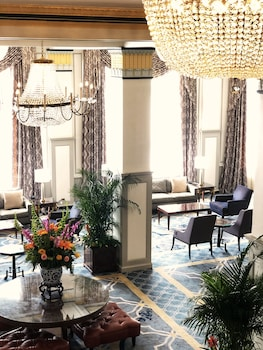 Lobby Sitting Area at The Francis Marion Hotel in Charleston