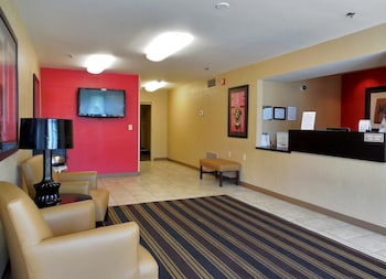 Lobby at Extended Stay America - Charleston - Northwoods Blvd. in North Charleston