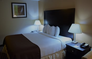 Guestroom at Baymont by Wyndham Dallas/ Love Field in Dallas