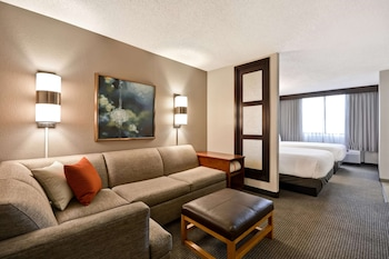 Room, Multiple Beds (2 Doubles, Sofabed & High floor)
