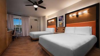 Standard Room, 2 Queen Beds (Tower View)