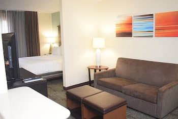 Studio Suite, 1 Queen Bed, Accessible (Mobility Roll-In Shower)