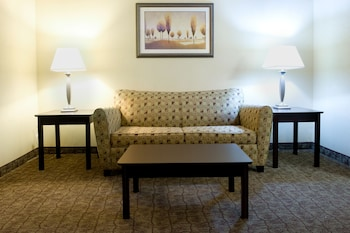 Guestroom at Holiday Inn Express Hotel & Suites DFW Airport South in Irving