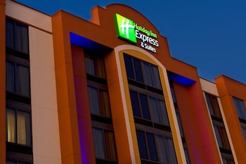 Exterior at Holiday Inn Express Hotel & Suites DFW Airport South in Irving