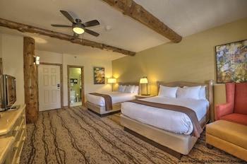 Mountain View 2 Queens Guestroom