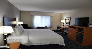 Standard Room, 1 King Bed, Accessible, Refrigerator & Microwave