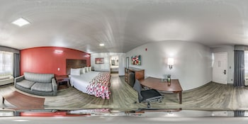 Guestroom at Red Roof Inn Dallas - Mesquite in Mesquite