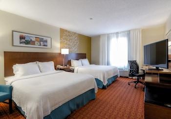 Guestroom at Fairfield Inn By Marriott Potomac Mills in Woodbridge