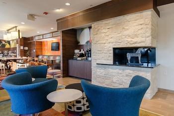 Lobby at Fairfield Inn By Marriott Potomac Mills in Woodbridge