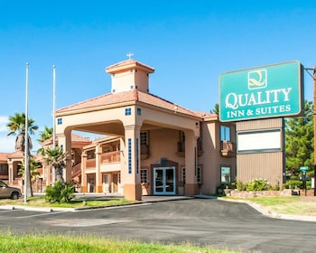 拉斯克魯塞斯 - 大學區品質套房飯店 Quality Inn & Suites Las Cruces - University Area