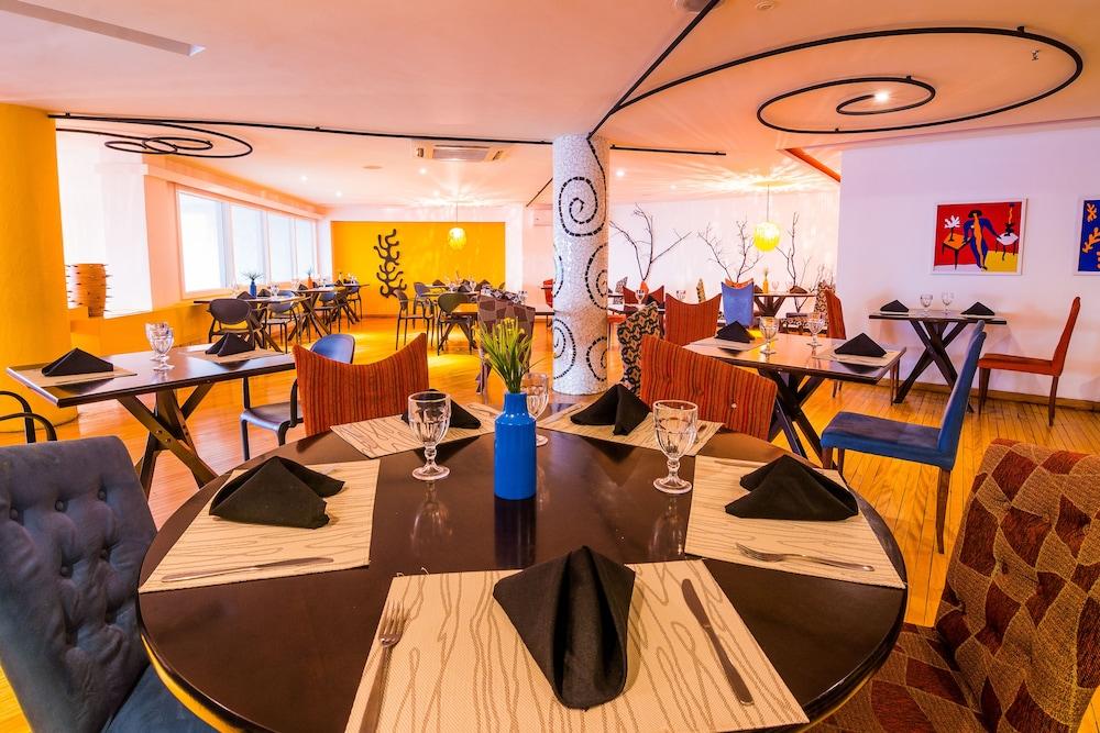 골든 포르탈레자 바이 인터시티(Golden Fortaleza by Intercity) Hotel Image 40 - Restaurant