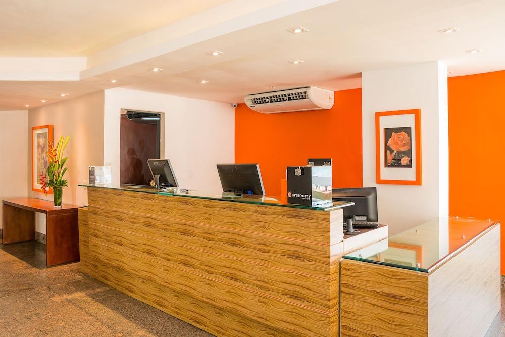 골든 포르탈레자 바이 인터시티(Golden Fortaleza by Intercity) Hotel Image 33 - Reception