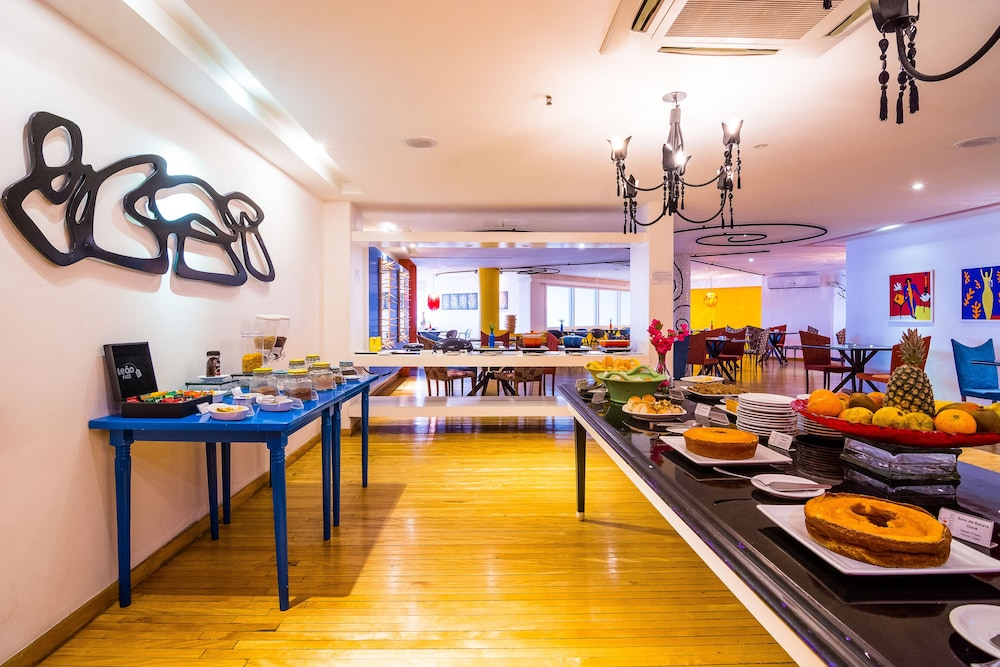 골든 포르탈레자 바이 인터시티(Golden Fortaleza by Intercity) Hotel Image 43 - Buffet