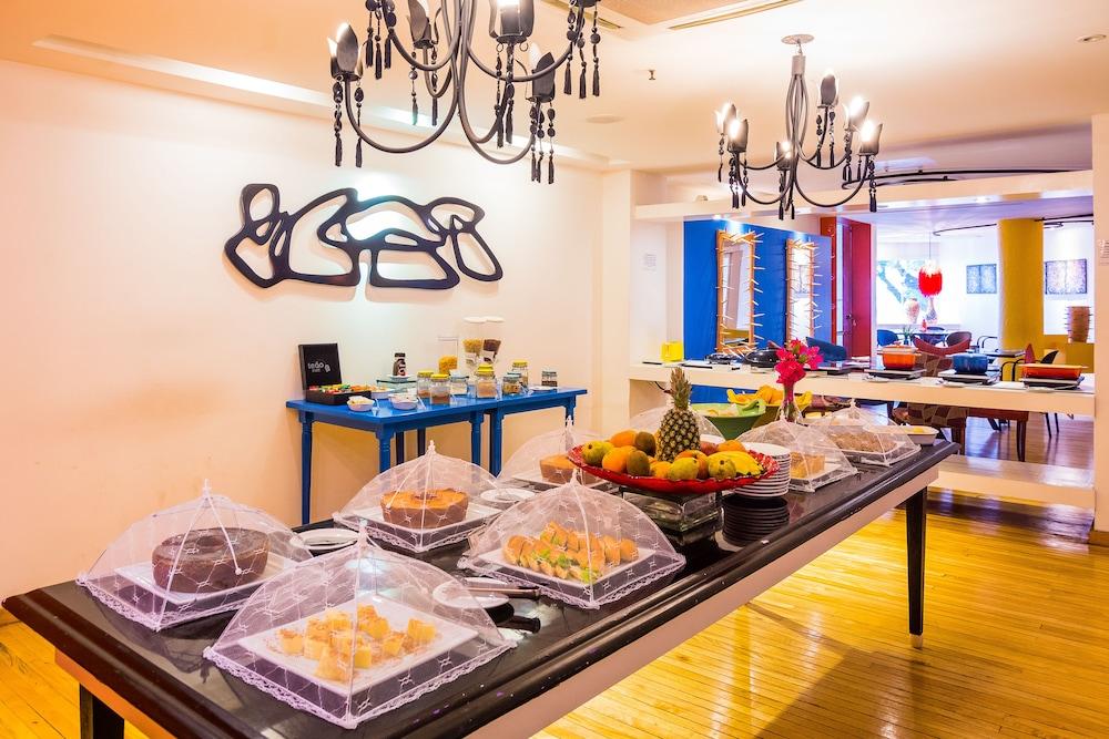 골든 포르탈레자 바이 인터시티(Golden Fortaleza by Intercity) Hotel Image 41 - Restaurant