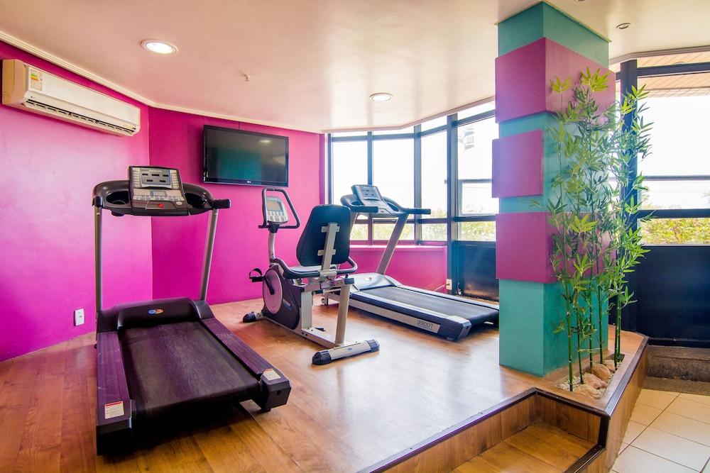 골든 포르탈레자 바이 인터시티(Golden Fortaleza by Intercity) Hotel Image 35 - Gym