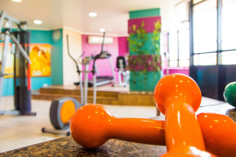골든 포르탈레자 바이 인터시티(Golden Fortaleza by Intercity) Hotel Image 36 - Gym