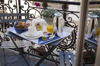 Luxury Suite, Balcony