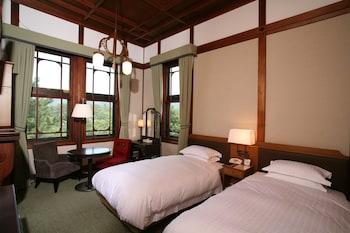 本館 スタンダードツイン25.5平米(奈良公園側)禁煙|奈良ホテル