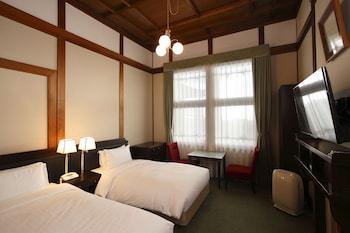本館スタンダードツイン (奈良市街側) 禁煙|奈良ホテル