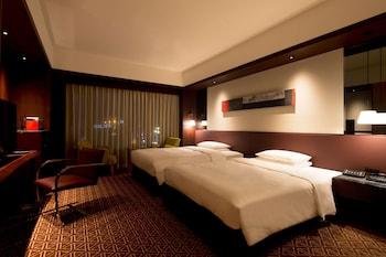 ルーム シングルベッド 2 台|グランドハイアット 福岡