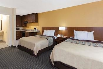 Guestroom at Days Inn by Wyndham Mission Valley Qualcomm Stadium/ SDSU in San Diego