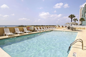 Pool at Days Inn by Wyndham Myrtle Beach-Beach Front in Myrtle Beach