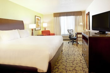 Mobility Accessible Room with  1 King Bed, Bathtub, Drinks & Snacks