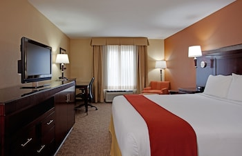 Guestroom at Holiday Inn Express Hotel & Suites San Diego-Sorrento Valley in San Diego