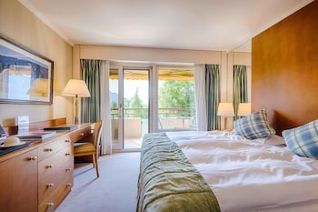 Standard İki Ayrı Yataklı Oda, Balkon, Kısmi Göl Manzaralı