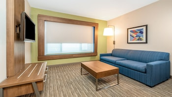 Suite, 1 King Bed, Accessible (Roll in Shower)