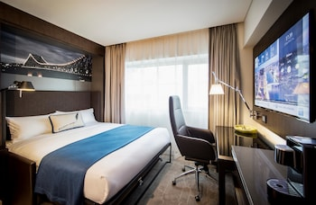 Guestroom at NEXT Hotel Brisbane in Brisbane