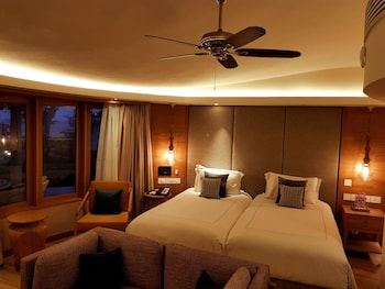 Premium Cottage, Partial Sea View (Twin Bed)