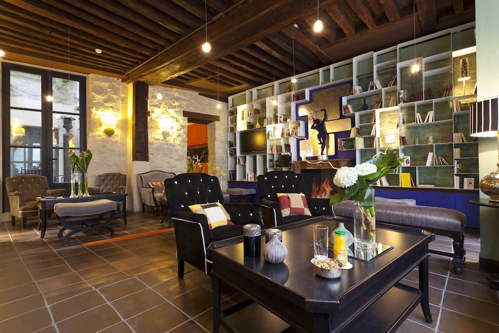 레 퐁텐느 두 뤽상부르(Les Fontaines du Luxembourg) Hotel Image 2 - Lobby Sitting Area