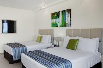 Oda, 2 Çift Kişilik Yatak, Dağ Manzaralı
