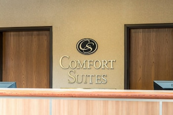 Lobby at Comfort Suites North Fossil Creek in Fort Worth