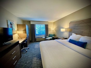 Suite, 1 King Bed with Sofa bed, Accessible, Refrigerator & Microwave (with Sofabed)