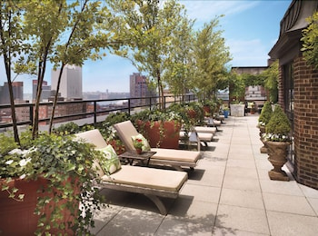 Sundeck at Hudson New York, Central Park in New York