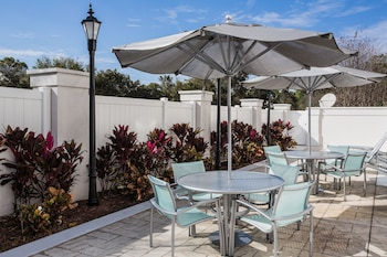 Terrace/Patio at Springhill Suites By Marriott Orlando Altamonte Springs in Altamonte Springs