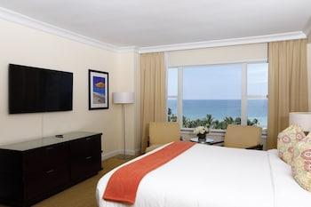 Oceanfront No Balcony, 1 King Bed