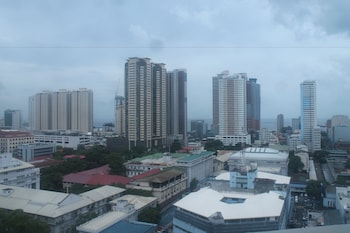Pearl Manila Hotel View from Property