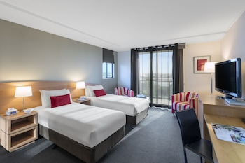 Guestroom at Waldorf Parramatta Apartment Hotel in Rosehill