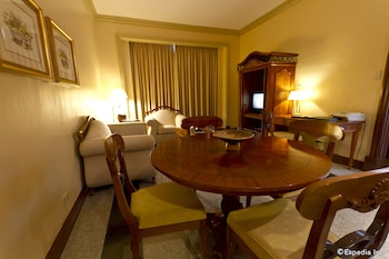 Waterfront Cebu City Hotel & Casino Living Area